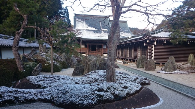 Temple lodging in Shukubo Temple in Mount Koya
