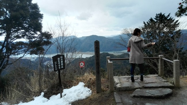 summit view from Onsen-ji Temple