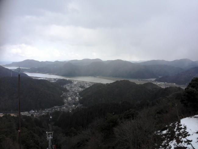 view near Onsen-ji Temple