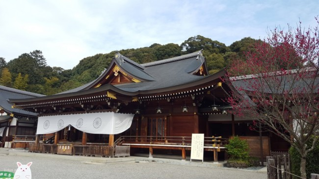 Omiwa shrine in Nara