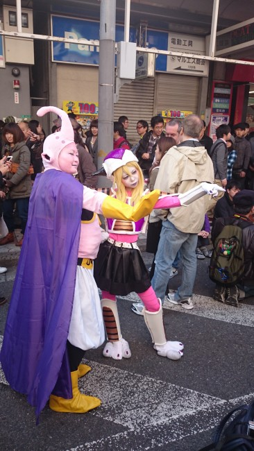Cosplay Festival in Osaka celebrating Manga and Anime