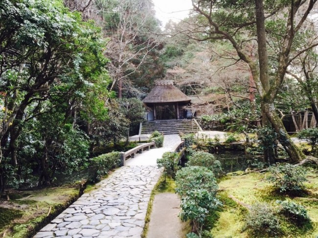 Sights walking the Kyoto Philosopher's Path: Honen Temple