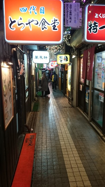 Off to the side in Susukino is the famous Ramen Yokocho, a small lane with many tasty ramen shops