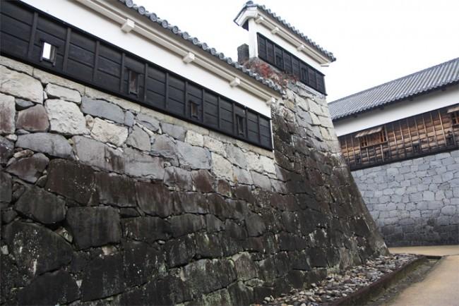 Kumamoto Castle interior walls