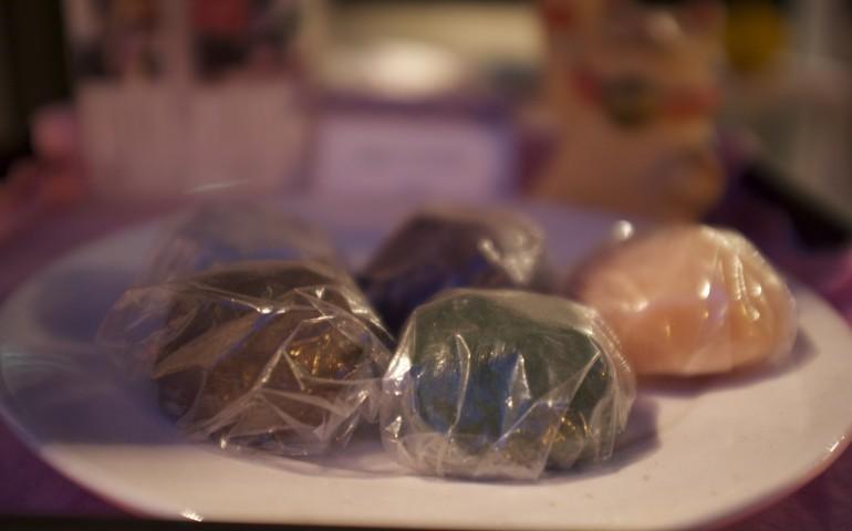 Dango, wagashi, food, Kumamoto, Kyushu, recipe, cafe, rice, dumpling
