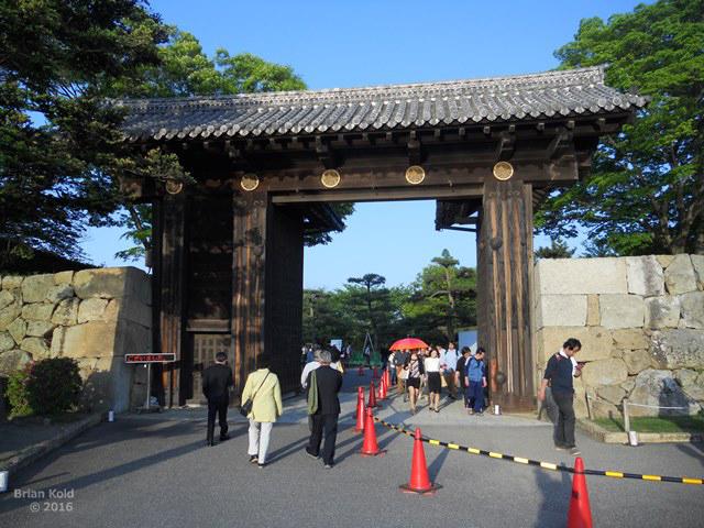 entrance to Himeji Castle