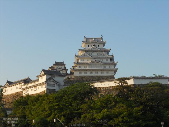 Himeji Castle grand architechture