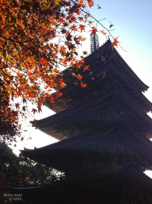 grounds of Daigoji temple in Kyoto, architecture