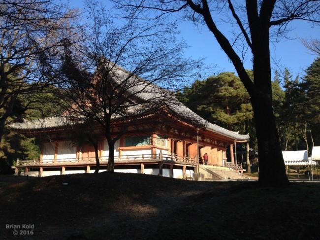 grounds of Daigoji temple in Kyoto
