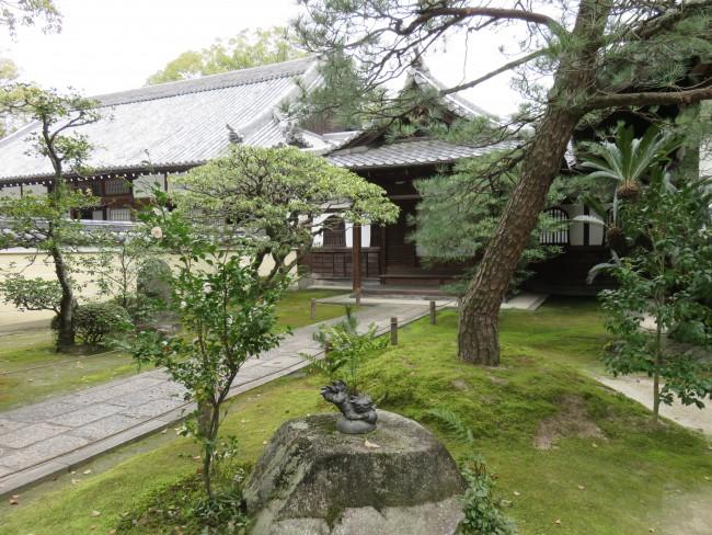Fukuoka Jotenji Zen temple, garden