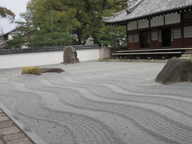Fukuoka Jotenji Zen temple, Zen rock garden