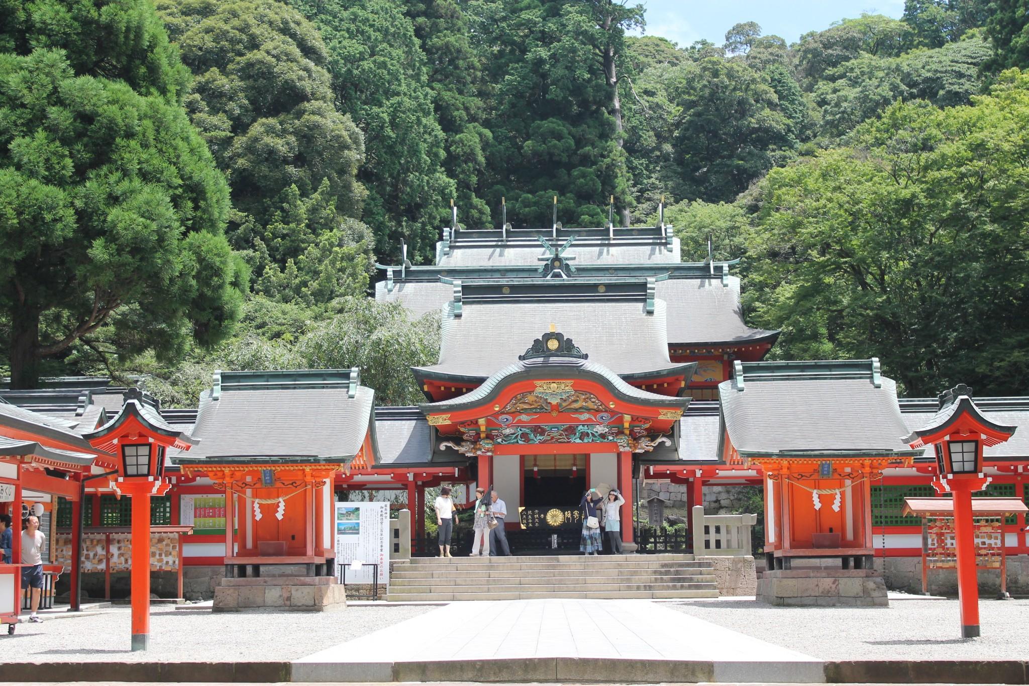 Kirishima Jingu Shrine and its Mythology