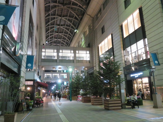 Daimaru shopping mall in Tenjin, Fukuoka