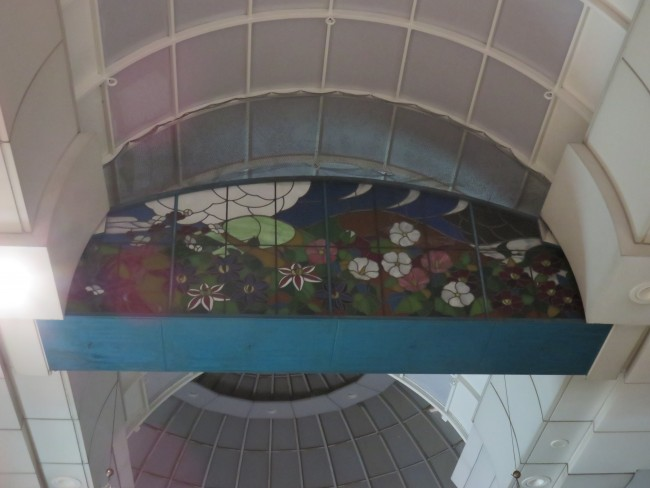 ceiling of Kamikawabata Shopping Arcade