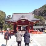 Kamakura's historic Tsurugaoka Hachimangu shrine complex