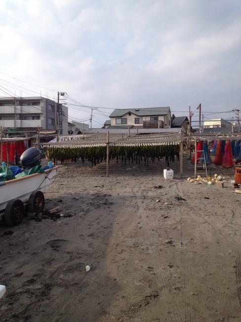 sands of Yuigahama Beach