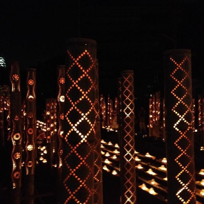 local Kumamoto craftsman create beautiful lanterns for the Mizu Akari Festival