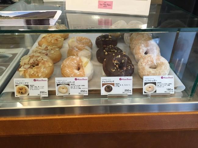 Pastries display