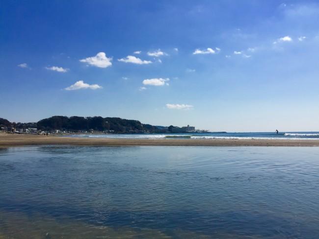shores of Yuigahama Beach