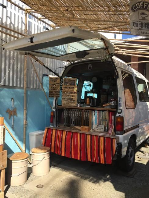 Wash down a crepe with a van cafe artisanal coffee drip, Hasedera street, Kamakura