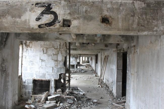 Desecrate hallway at Matsuo Kouzan town.