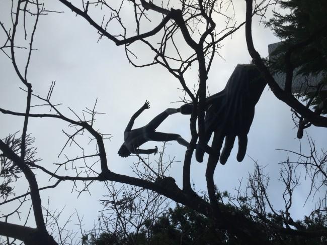art sculptures at Hakone Museum in Kanagawa
