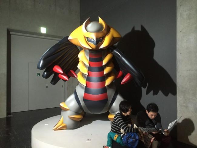 legendary Giratina at Pokemon Lab at Nagoya Science Museum in Nagoya