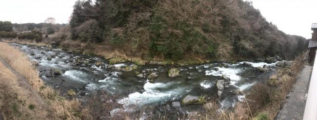 Shiraito Falls in Shizuoka, Japan offer outdoor nature scenery and a view of Fuji