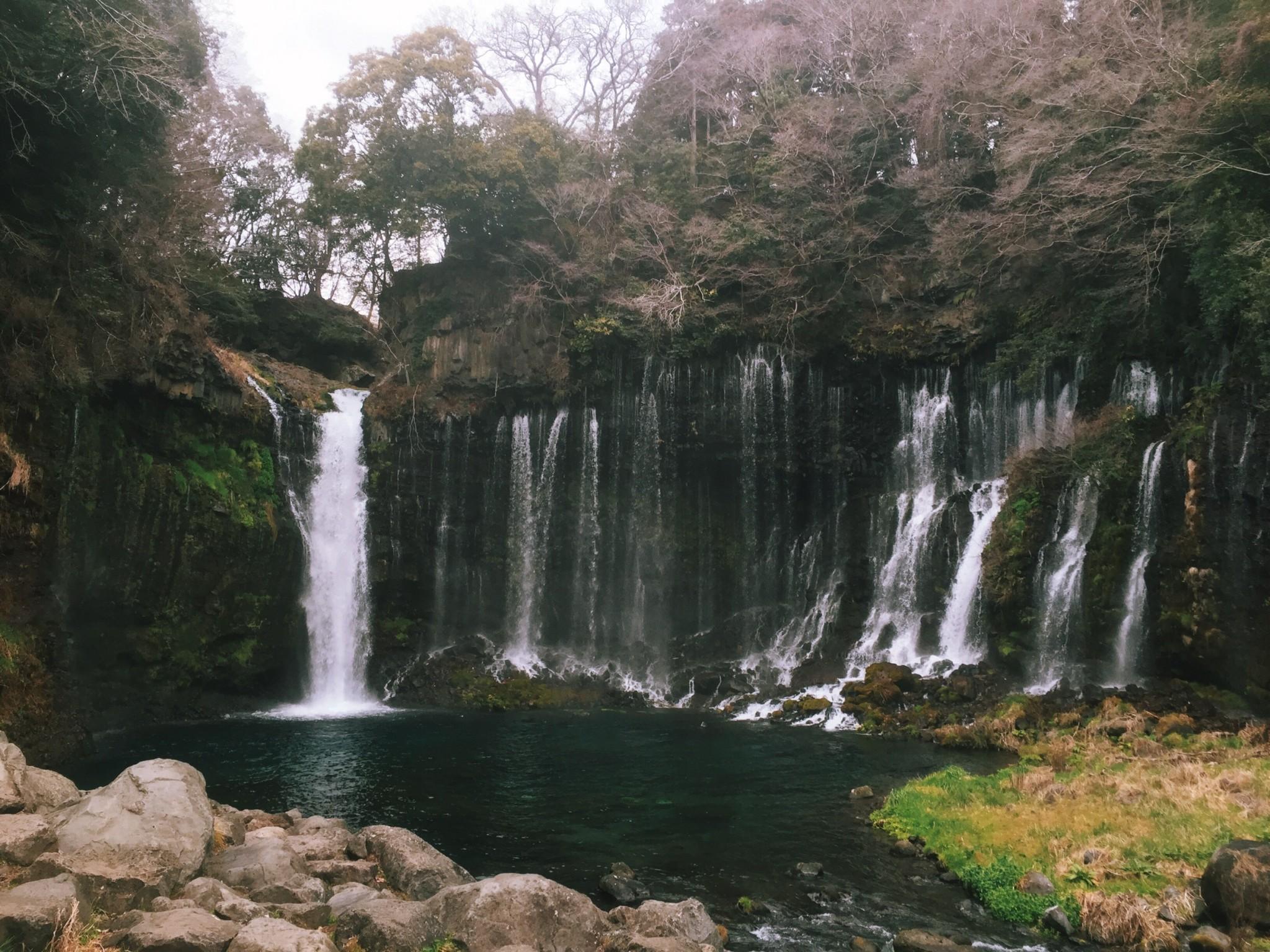 Mt. Fuji's Shiraito and Otodome Waterfalls