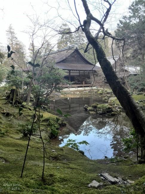 Nanzenji Temple in Kyoto , garden