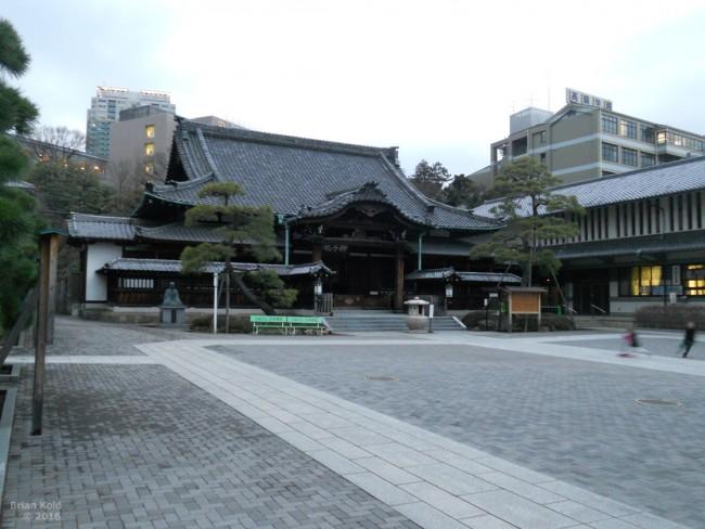 Sengakuji temple Tokyo, resting place of 47 ronin (masterless samurai)