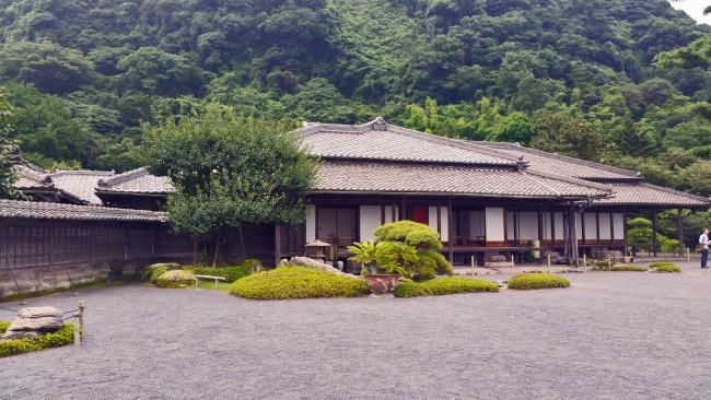 Sengan-en residence near the garden in Kagoshima.