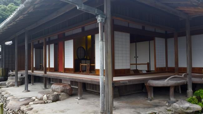 Sengan-en residence inside in Kagoshima.
