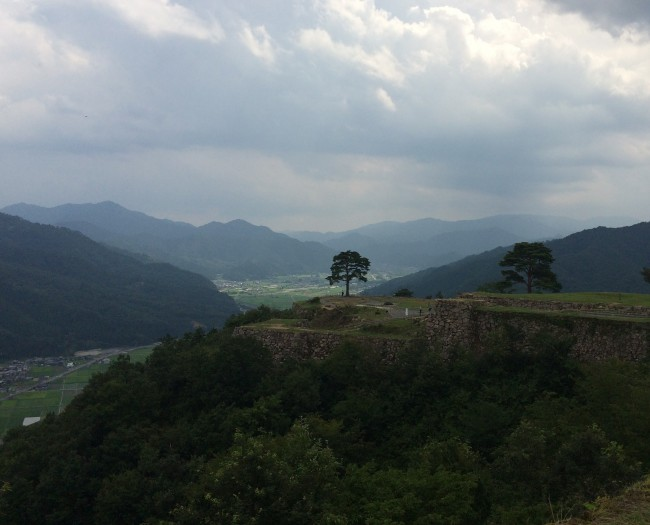 Takeda castle, scenic reward for hiking Hyogo