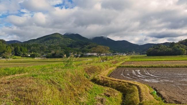Tano Kansa -fields of dirt and grass.
