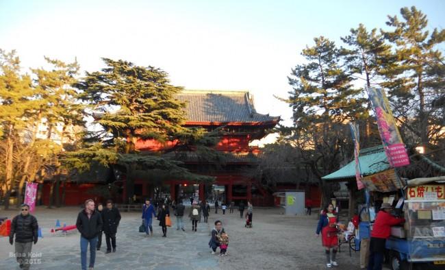 Zojoji temple grounds