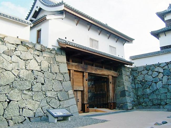 Gateway to Fukuoka Castle, inside Maizuru Park