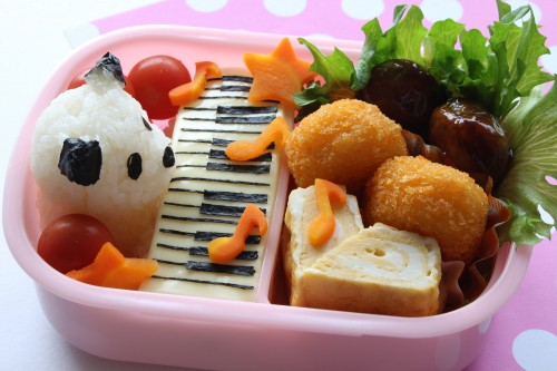 Creating a kyaraben bento using a unique recipe has allowed a great new take on the traditional lunchbox