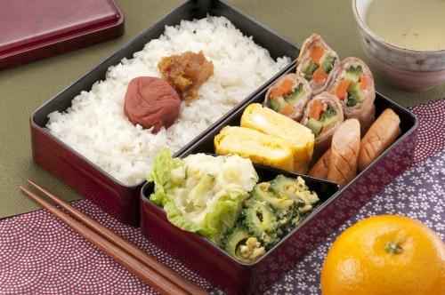 Japanese love homemade bento lunch box.