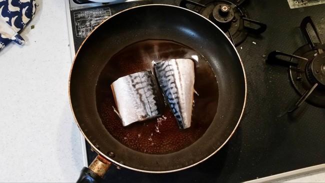 Some mirin sake simmering fish, a fine Japanese recipe dish