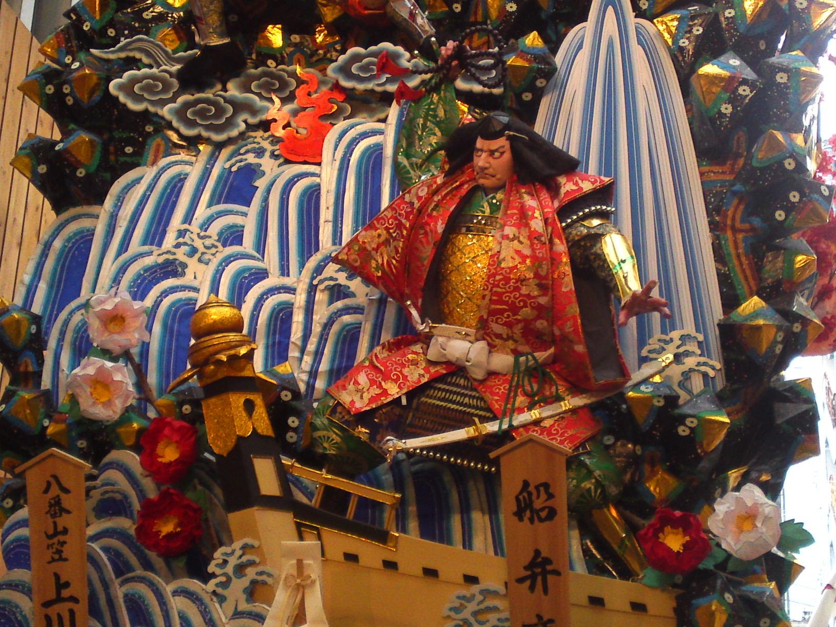 The Giant Floats of Hakata Gion Yamakasa Festival, Fukuoka
