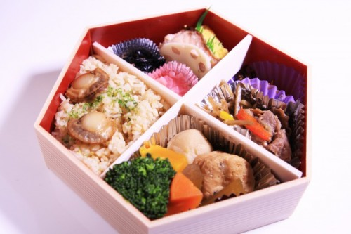 Bento is Japanese typical lunch set!
