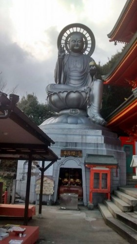 Buddha statue in Shigi mountain shrine
