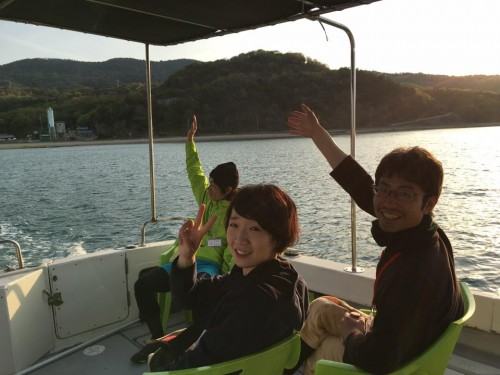Being a Koebi Tai volunteer brings a community feeling for supporting the Setouchi art festival in Japan