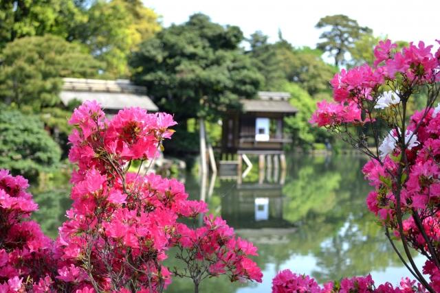 The six sublimities of Kanazawa Kenrokuen Garden