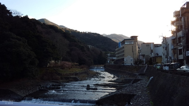 Hakone-Yumoto , home of one of the best onsen in tokyo and anime Evangelion