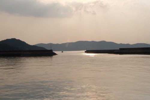 Seto Inland Sea, Triennale art festival islands beckoning under evening skies