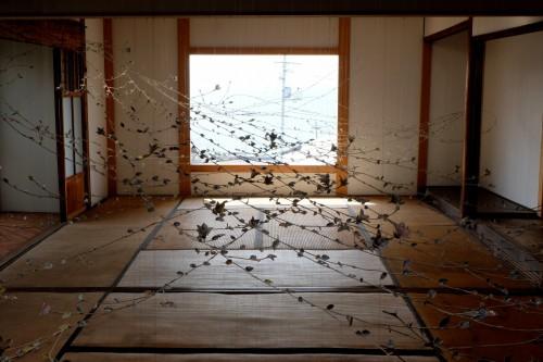 """Sea Vine"" art site on Ogijima for Setouchi Festival"