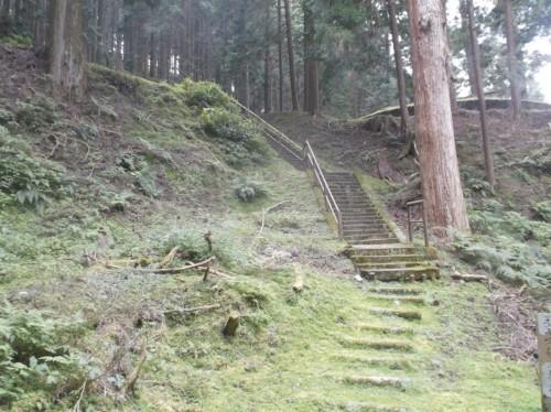 path in Hiei, home to Enryaku-ji Temple
