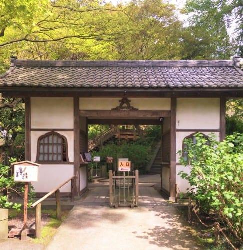 entrance to Meigetsu-in temple, Kamakura